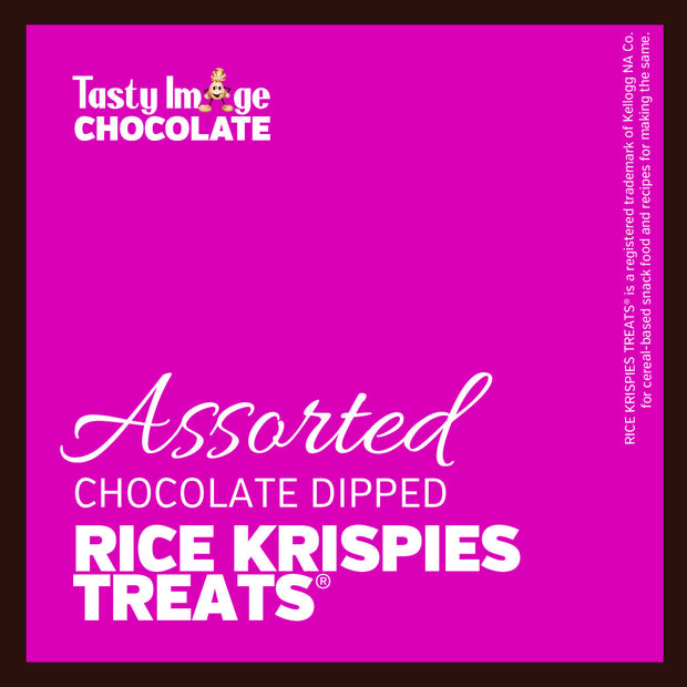 Chocolate Dipped Rice Krispies® Treats - 3 pieces