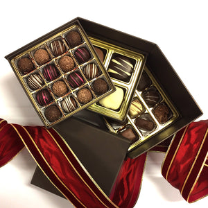 3 Tier Chocolate Truffle Gift Box