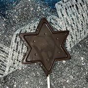 Star of David Lollipop