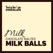 Chocolate Malted Milk Balls - 1/2 lb