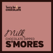 Chocolate Dipped S'mores - 6-8 pieces