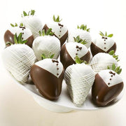 Bride & Groom Chocolate Strawberries