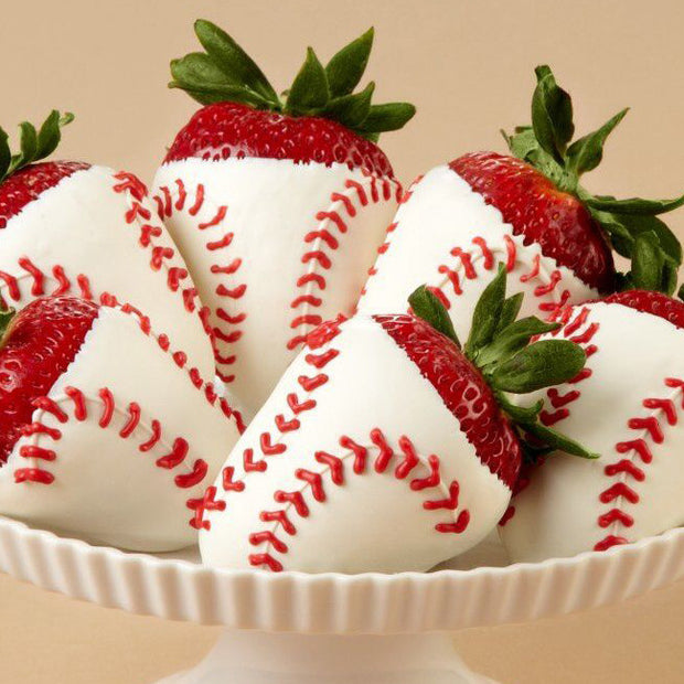 Chocolate Strawberry Baseballs