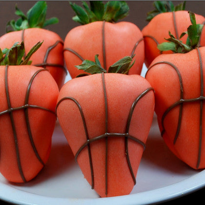 Chocolate Strawberry Basketballs
