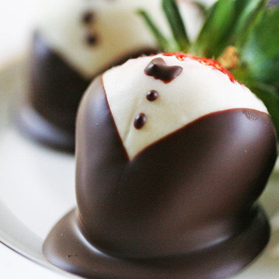 Chocolate Tuxedo Strawberries