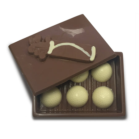 Box of Chocolate Golf Balls