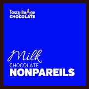 Chocolate Nonpareils - 1/2 lb