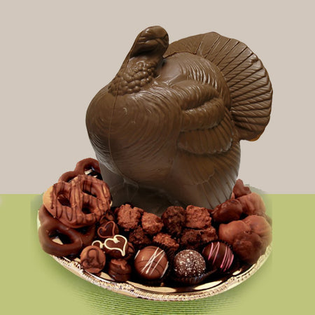 Chocolate Turkey Platter