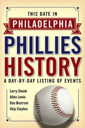 This Date in Philadelphia Phillies History: A Day-by-Day Listing of Events