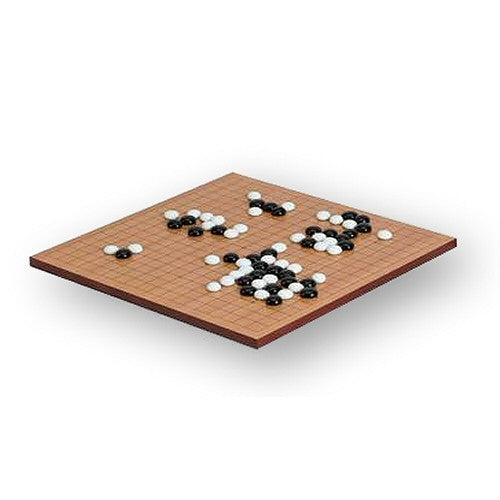 "Classic Games Standard Wooden Classic 14"" x 14"" Game of Go - Grizzly Supply Co"