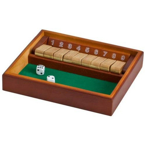Classic Games Shut the Box 9 Number Table Top Game - Grizzly Supply Co
