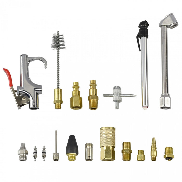18 Piece Air Accessories Set for Compressed Air Tools