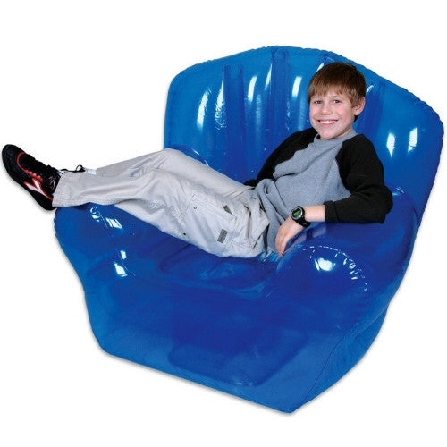 Inflatable Furniture Inflatable Bubble Style High Back Blow Up Chair - Grizzly Supply Co