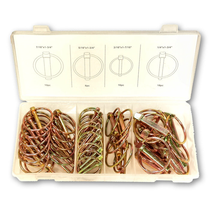 Lynch Pin 50 Piece Assorted Hardware Kit