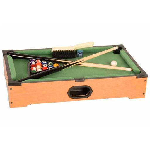 Table Game Table Top Mini Pool Table Game Set - Grizzly Supply Co