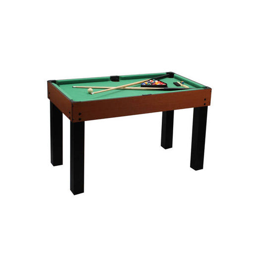 4 in 1 Game Table with Mini Billiards, Hockey, Foosball & Ping Pong