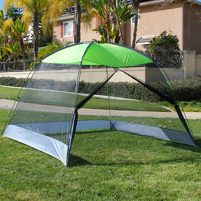 ... Caravan Sports Canopy 10 Ft x 10 Ft Screen House Shelter & Caravan Sports Canopy 10 Ft x 10 Ft Screen House Shelter u2014 Grizzly ...