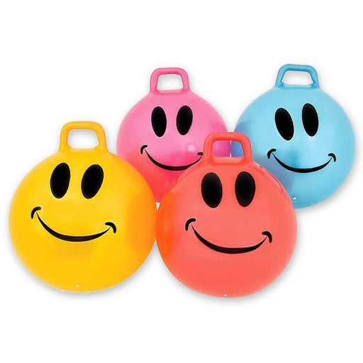 "Smiley Face 22"" Hippity Hop Jumping Hop Balls"