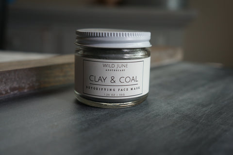 CLAY & COAL FACE MASK