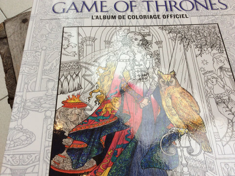 Game of Thrones - L'album de coloriage officiel