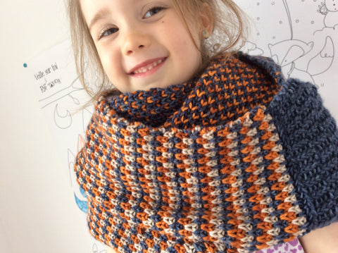Kit ''Stitch Block Cowl ''