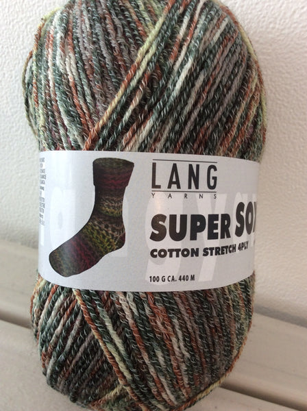 Lang - Super Soxx Cotton Stretch 4ply