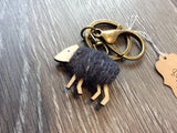 Porte-Clés moutons / Sheep keyrings