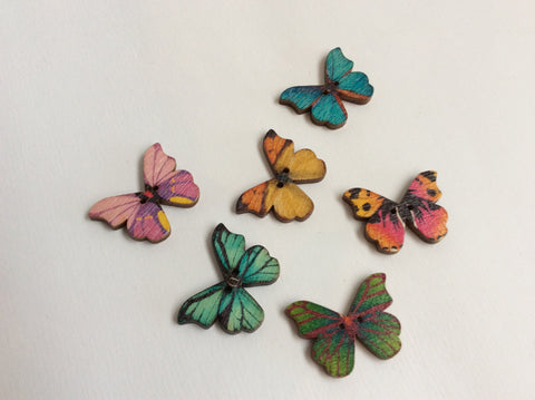 Boutons papillons / butterfly buttons