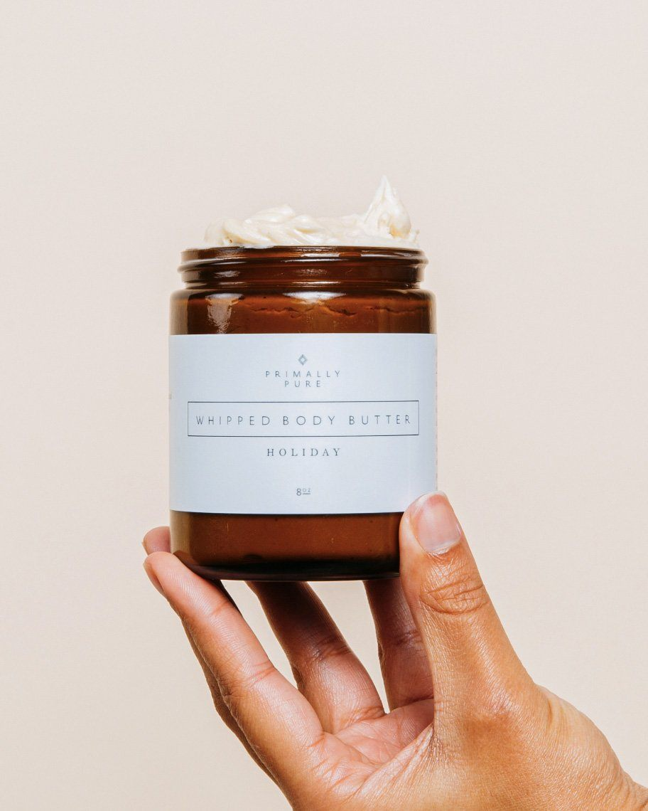 Primally Pure Holiday Whipped Body Butter