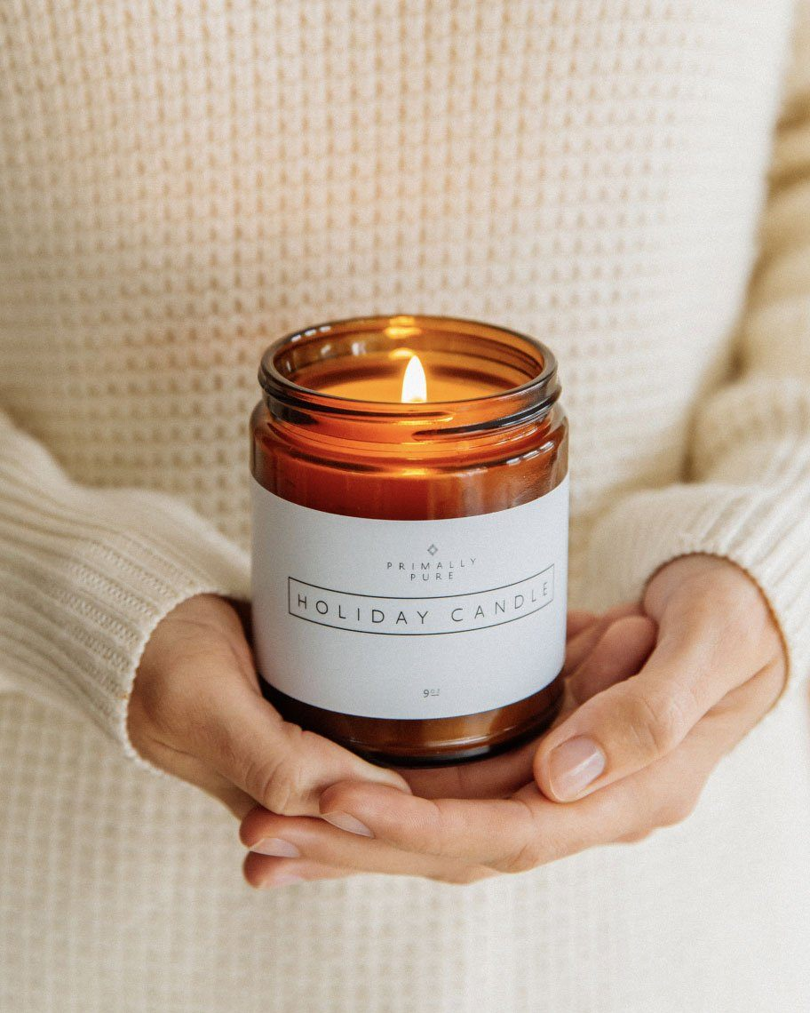 Primally Pure Holiday Candle