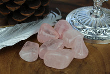 Load image into Gallery viewer, Rose Quartz Tumbled