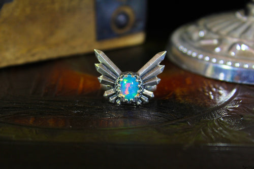 The Relic Ethiopian Welo Opal Ring