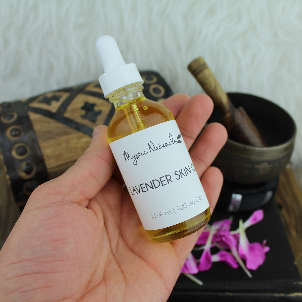 Lavender Body Oil w/ CBD (100mg CBD)