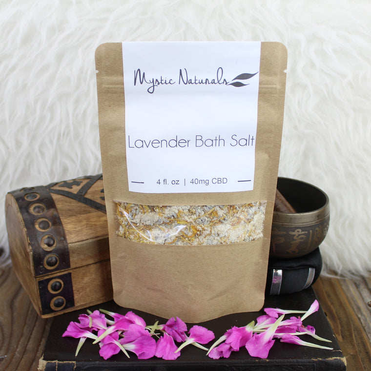 CBD Lavender Bath Tea (40mg CBD)