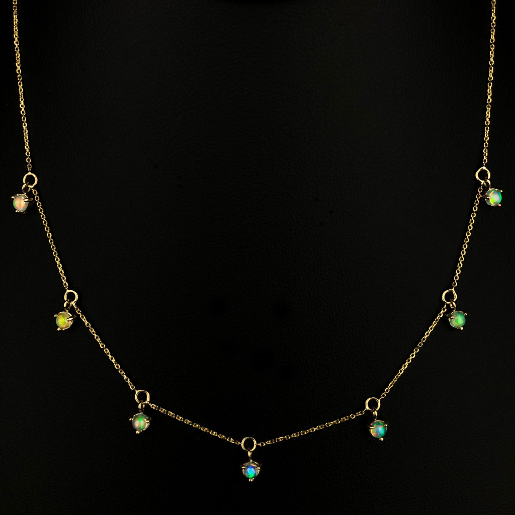 Opal Choker Necklace