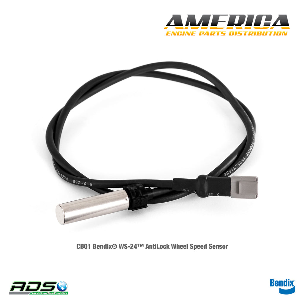 CB01 Bendix® WS-24™ AntiLock Wheel Speed Sensor