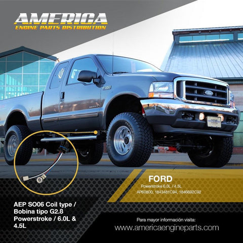 AEP_SO06 Coil type / Bobina tipo G2.8 Powerstroke / 6.0L & 4.5L