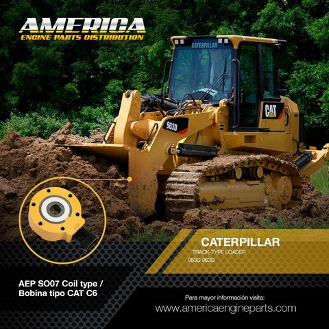AEP_SO07 Coil type / Bobina tipo CAT C6