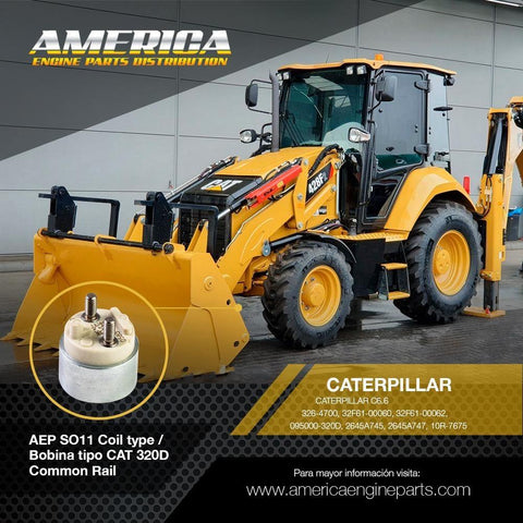 AEP_SO11 Coil type / Bobina tipo CAT 320D Common Rail