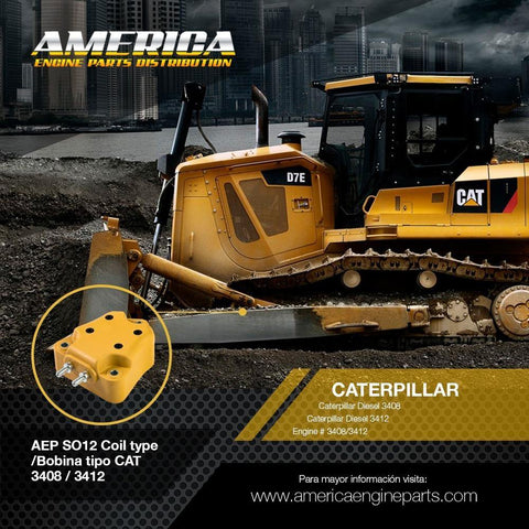 AEP_SO12 Coil type /Bobina tipo CAT 3408 / 3412