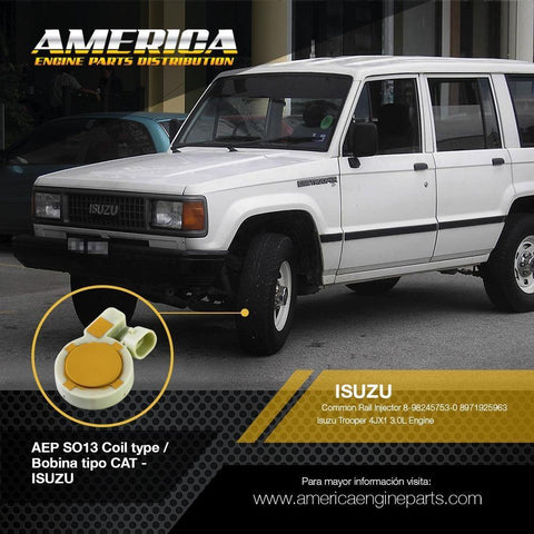 AEP_SO13 Bobina tipo CAT - ISUZU