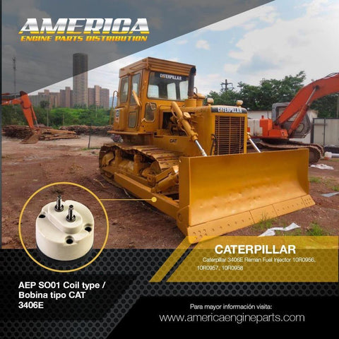 AEP_SO01 Coil type / Bobina tipo CAT 3406E