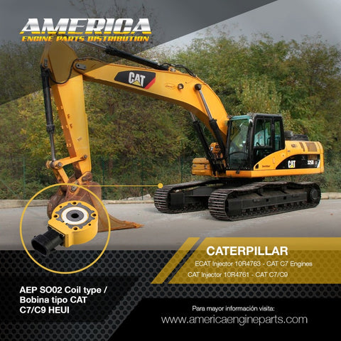 AEP_SO02 Bobina tipo CAT C7/C9 HEUI