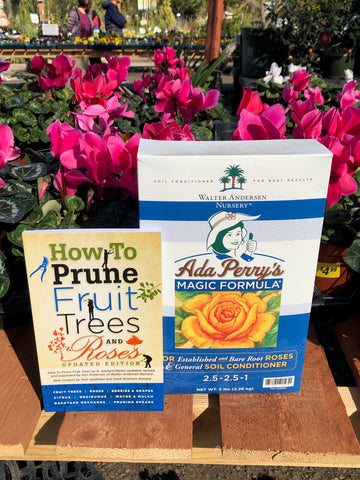 Ada Perry's 5 Pound Box plus HOW TO PRUNE FRUIT TREES AND ROSES  FREE PRIORITY MAIL SHIPPING!