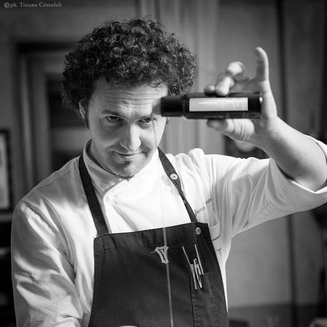 Chef Stefano Baiocco <br />CaRainene Extra Virgin Olive Oil