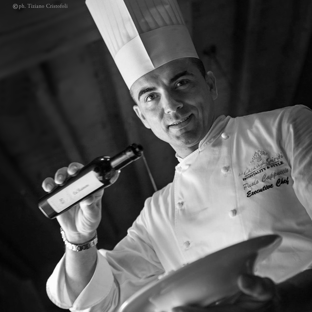 Chef Paolo Cappuccio <br />CaRainene Extra Virgin Olive Oil