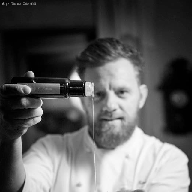 chef Matteo Felter <br />CaRainene Extra Virgin Olive Oil