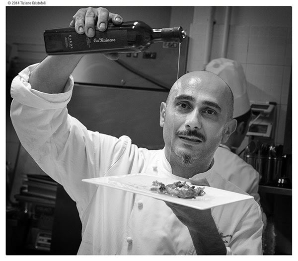 Chef Anthony Genovese <br />CaRainene Extra Virgin Olive Oil