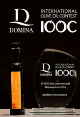 Drizzàr is World's Best Monocultivar at DOMINA IOOC 2016