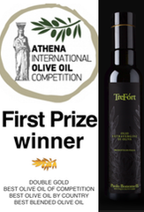 TreFort : First Prize winner at ATHENA  International Olive Oil Competition 2016
